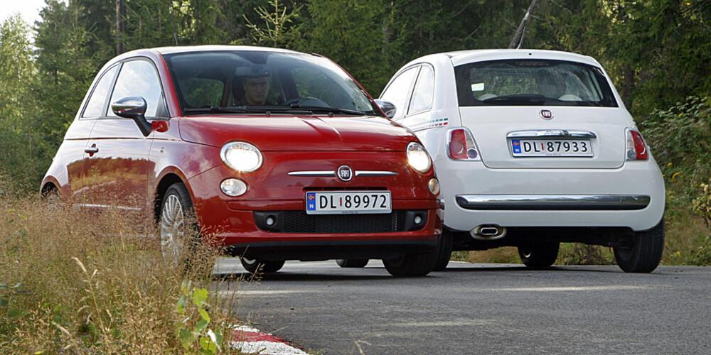 VANT I FJOR: Fiat 500 stakk av med tittelen årets bil i fjor.