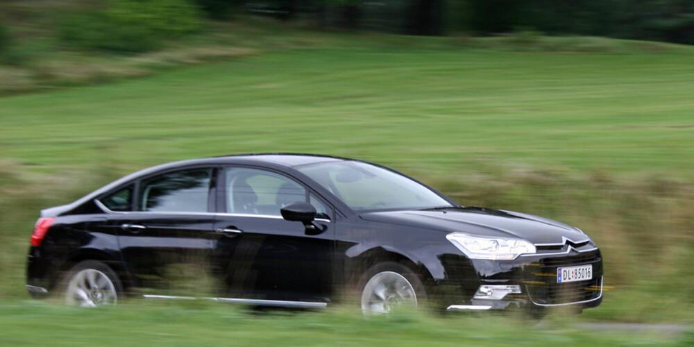 FAVORITTEN: Citroën C5 er spillselskapet Betssons favoritt.