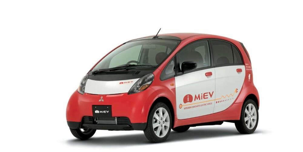 SIKKER: Den lille bilen skal i følge Mitsubishi være like sikker som alle andre biler i klassen.