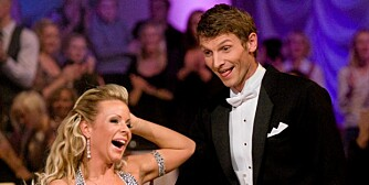 FINALISTER: Tore André Flo og Lene Alexandra Øien har danset seg til finalen neste uke.