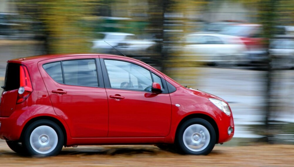 MIDT PÅ: Opels minste modell, Agila, havner midt på treet i vår oversikt over Norges billigste biler.