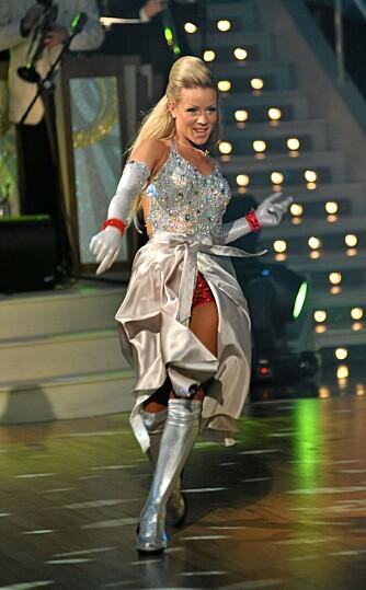 Lene Alexandra strålte fra første tango til siste showdans.