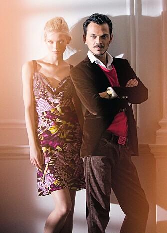 ETNISK INSPIRERT: Klærne Matthew lager for H&M er også inspirert av det etniske.