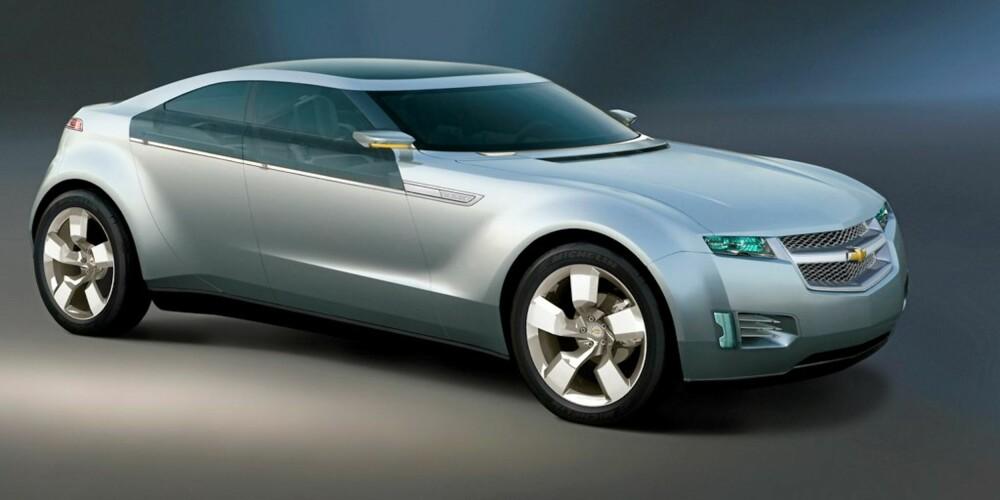 KONSEPT: I fjor viste Chevrolet frem sitt bidrag i klassen, Volt.