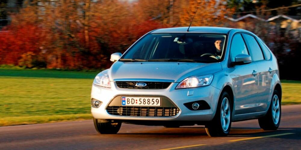 KJØREMESTER: Focus er best i klassen når det gjelder kjøreegenskaper.