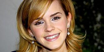 MODIG: Emma Watson er ikke uvillig til å strippe på film, om rollen krever det.