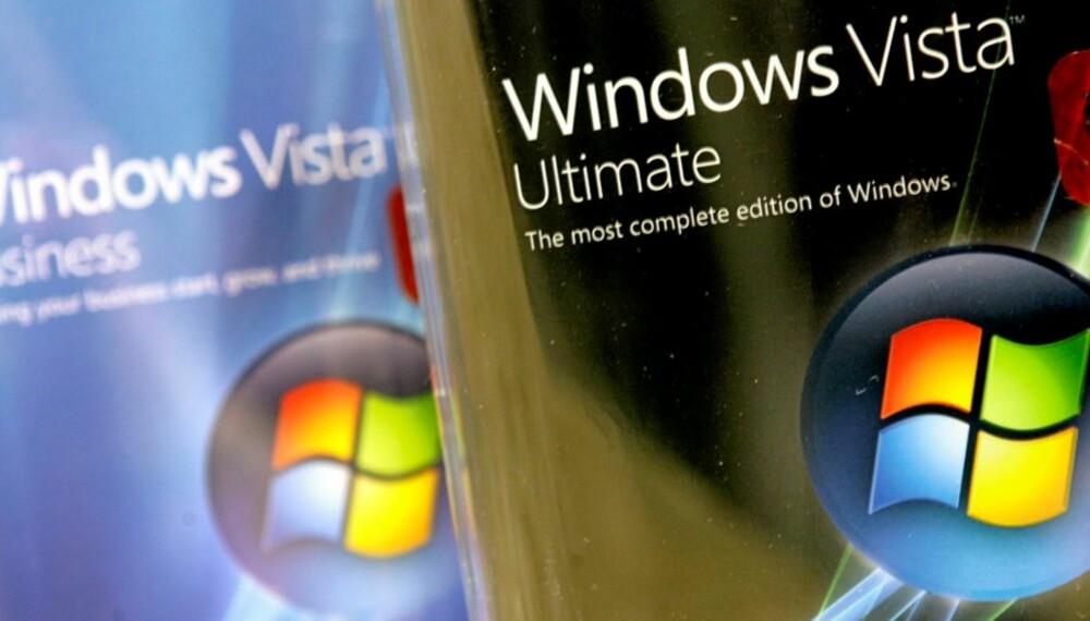 NY WINDOWS LEKKET: Windows 7 snek seg ut på nettet i juleferien.