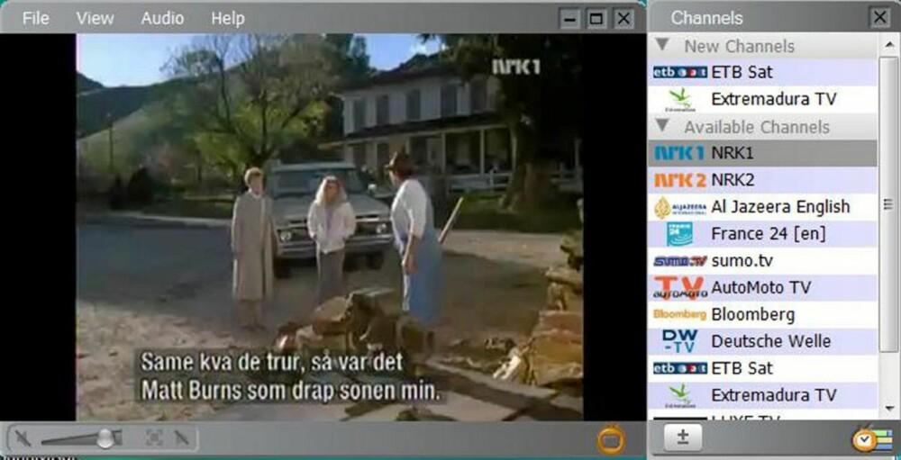 GOD: Zatto er liten og god og et program som er bra om du klarer deg med noen få kanaler.
