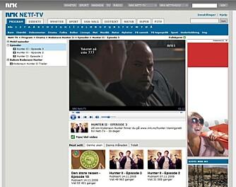 HJEMME BEST: Det beste web-TV-innholdet finnes kanskje på TV-kanalen du ser mest på. NRK er i særklasse flinkest til å legge ut eget inhold, men også TV3, TV Norge og TV2 legger ut noe gratis innhold på nettet.