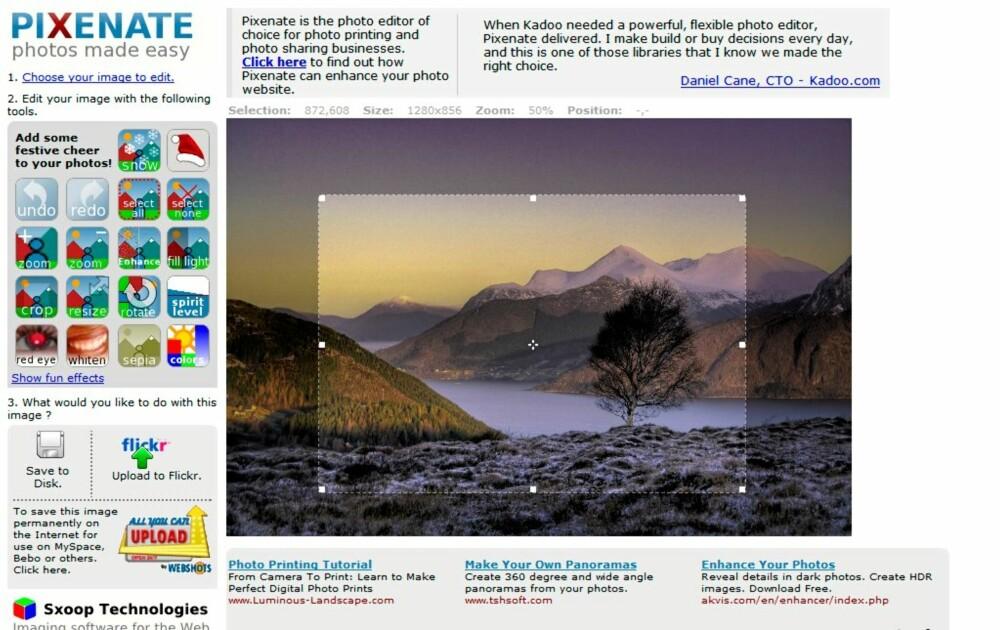 Bildredigering gratis online