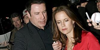 MISTET SØNNEN: John Travolta og Kelly Preston mistet sin 16 år gamle sønn Jett på ferie på Bahamas sist uke.