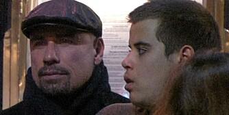 MISTET SØNNEN: John Travolta mistet sønnen Jett fredag.