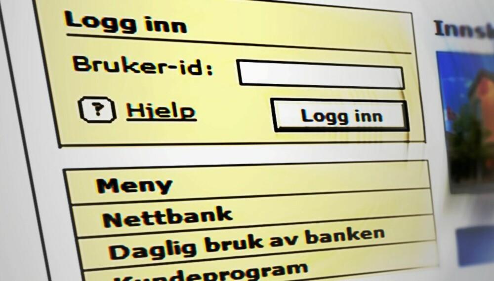 NY SVINDEL: Nettlesere med faner utsettes for en ny type nettbank-svindel.