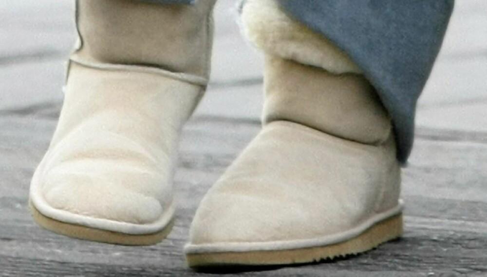 FARLIGE: Eksperter advarer mot hyppig bruk av de trendy saueskinnsskoene.