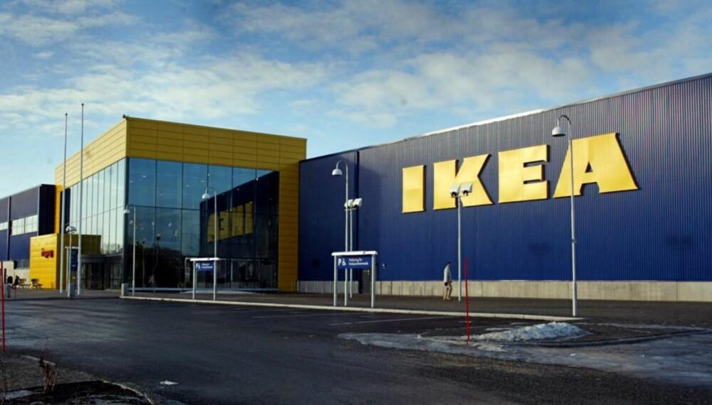 TRONDHEIM 20030213 IKEA varehus sin filial i Trondheim. Dette er den største filialen i Norge. Foto: Gorm Kallestad / SCANPIX