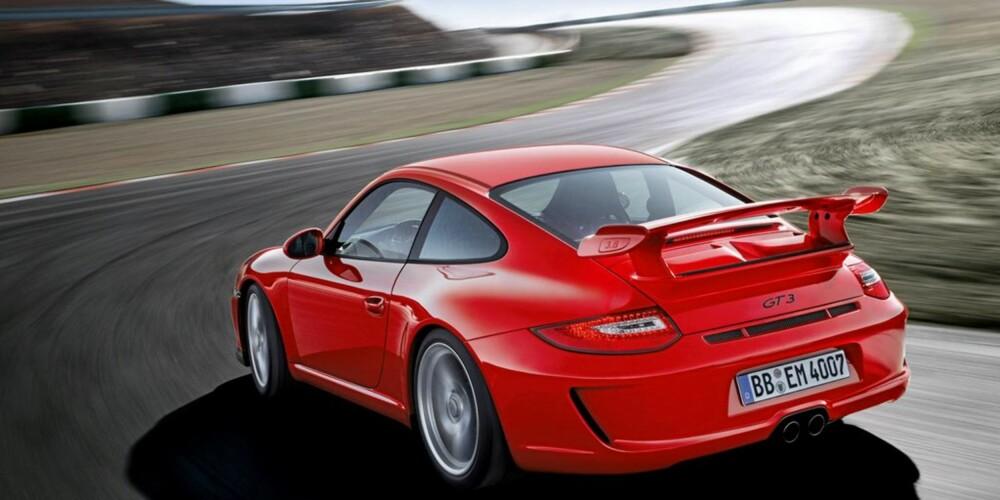 FART: Når du ser en GT3 på veien, er det stor sjanse for at er fra denne vinkelen.
