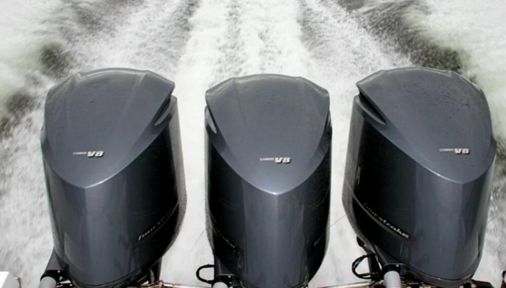 MANGE NYHETER: Flere produsenter lanserer nye motorer foran 2009-sesongen.