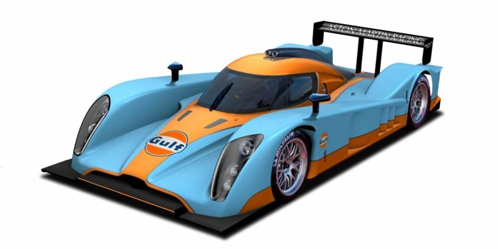 LE MANS: Dette er bilen Aston Martin ønsker å vinne 24-timersløpet på Le Mans med.