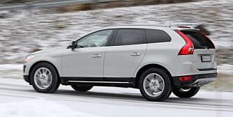 KOMFORTABEL: Volvo XC60 er både komfortabel og luksuriøs. Følgelig er den også forholdsvis dyr.