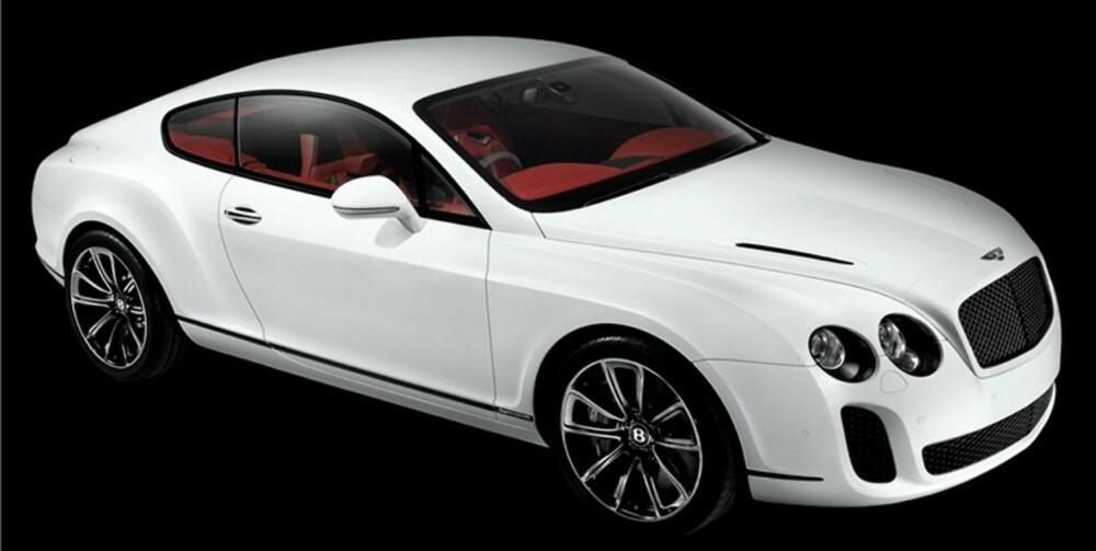MILJØ-BENTLEY: Continental Supersports er Bentleys sterkeste bil hittil, men de kaller den allikevel for 'grønn'.