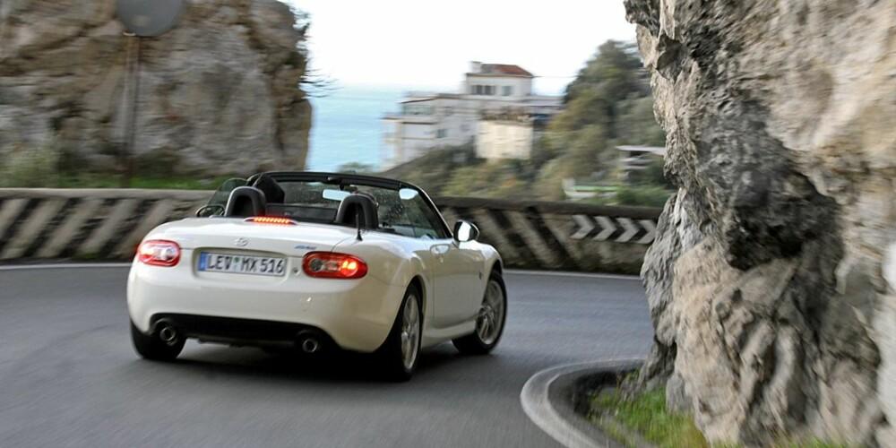 God fart i svingene er sterkt vanedannende i en MX-5.
