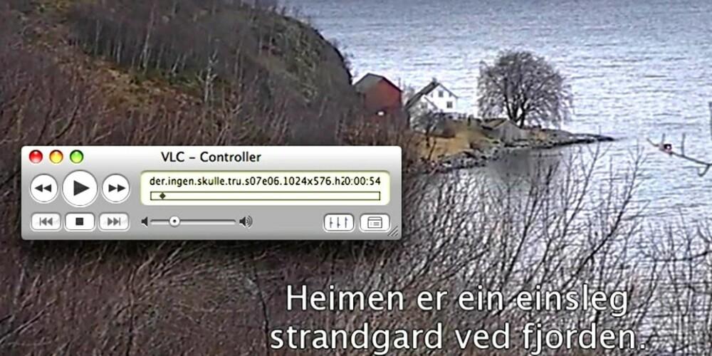 """POPULÆR: Den populære serien """"Der ingen skulle tro at nokon kunne bu"""" er først ut på NRKs bittorrent-tracker."""