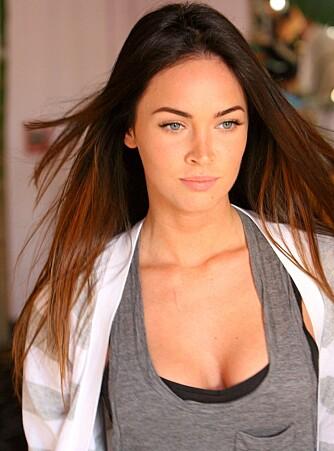 NATURLIG: Megan Fox er en naturlig skjønnhet. Kanskje ikke så rart hun er populær blant gutta?