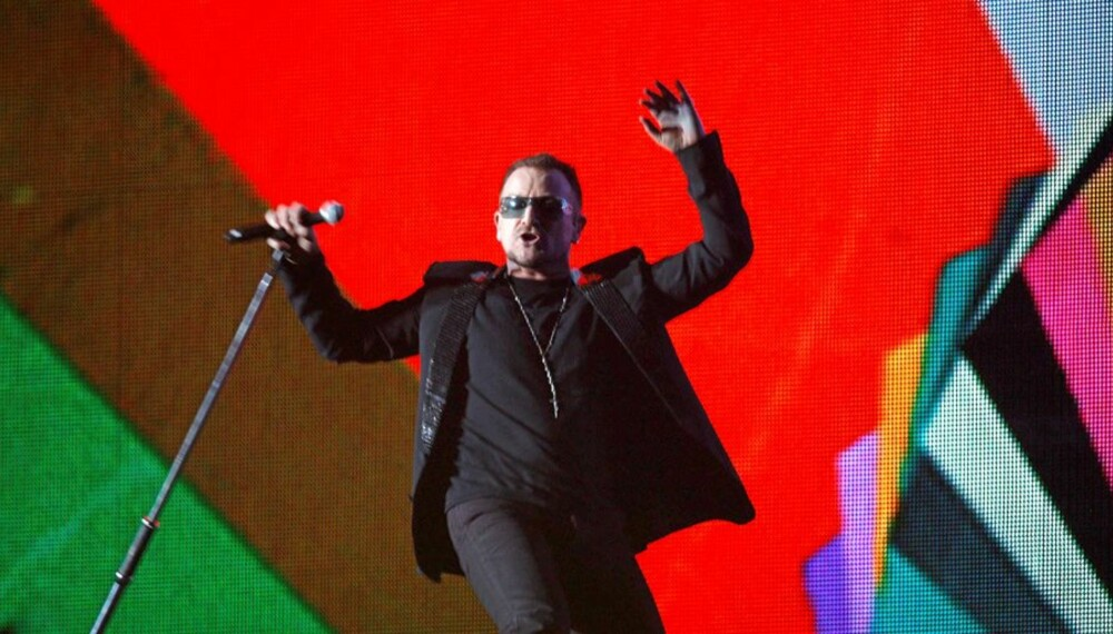 FØRST PÅ CMX? Bono, i U2, på Brit Awards i vinter. U2 kan bli prøvekanin for det nye musikkformatet CMX.