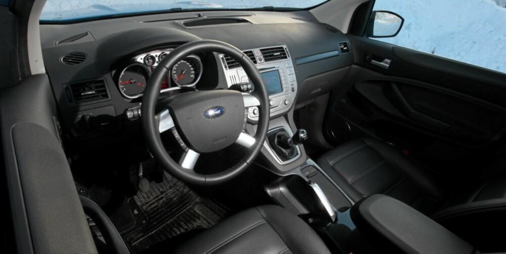Ford Kuga er av de mest personbilaktige i klassen.