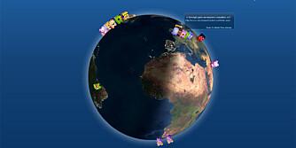 TWITTER LIVE: Ny tjeneste gir deg direkteoppdateringer fra Twitter verden rundt, døgnet rundt.