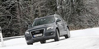 KOMPAKT PREMIUMBIL: Audi Q5 hører hjemme i den ekslusive enden av kompakt-SUV-klassen.