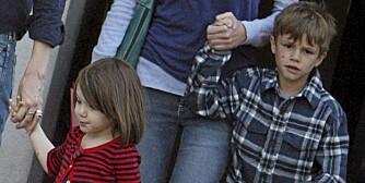 UNIKE NAVN: Kjendisbarna Suri Cruise og Romeo Beckham bærer begge særegne navn.