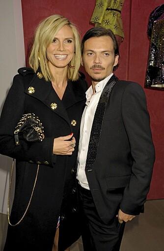 KJENDISFAVORITT: Heidi Klum er en stor fan av moteskaperen Matthew Williamson.