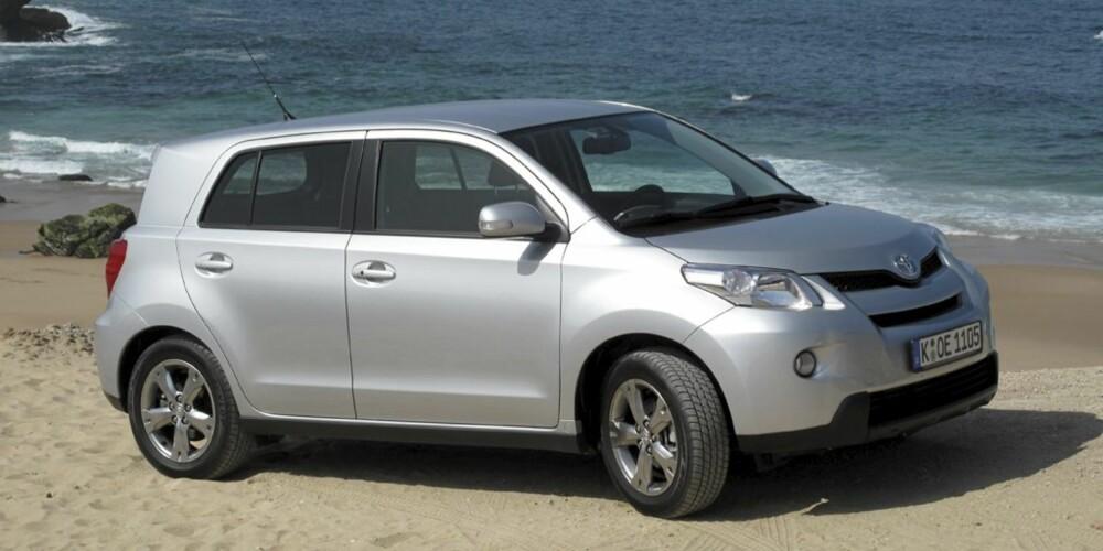 BILLIG 4X4: Toyota Urban Cruiser byr på 4x4 i en liten innpakning, til en relativt lav pris.