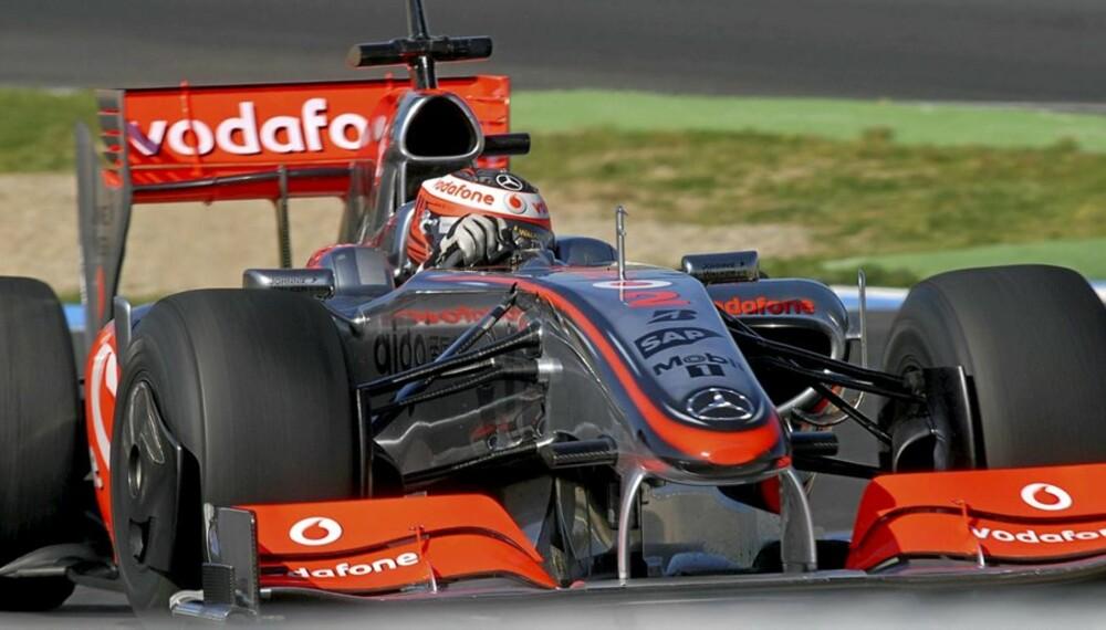 TRENER: Heikki Kovalainen, teamkamerat med fjorårets vinner Lewis Hamilton, trener foran sesongens første løp.