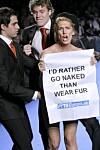 Dobbeltmoralsk å si nei til pels Det Nye