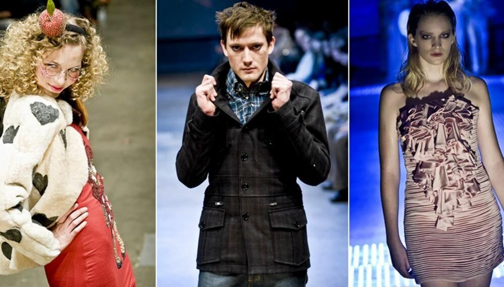 HØYDEPUNKTER: Fam Irvoll, Johnny Love og Christina Lovery var noen av høydepunktene under moteuka.