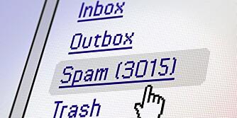 SPAM: I følge en rapport kan energien som går med til å produsere og håndtere spam varme opp to millioner boliger.