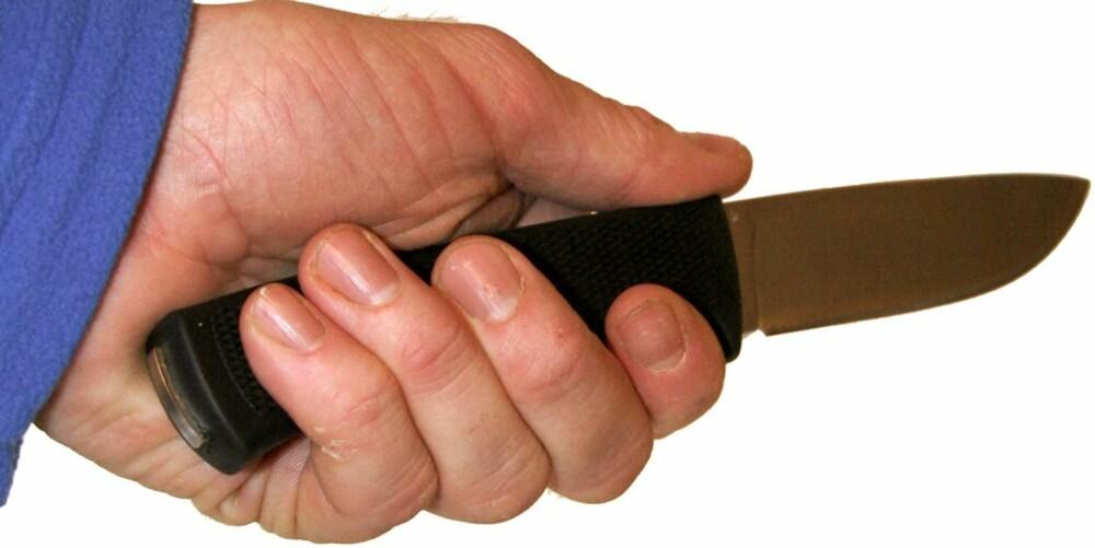 BRUKSKNIV: Fällkniven F1 er en topp brukskniv som kan brukes til det meste.