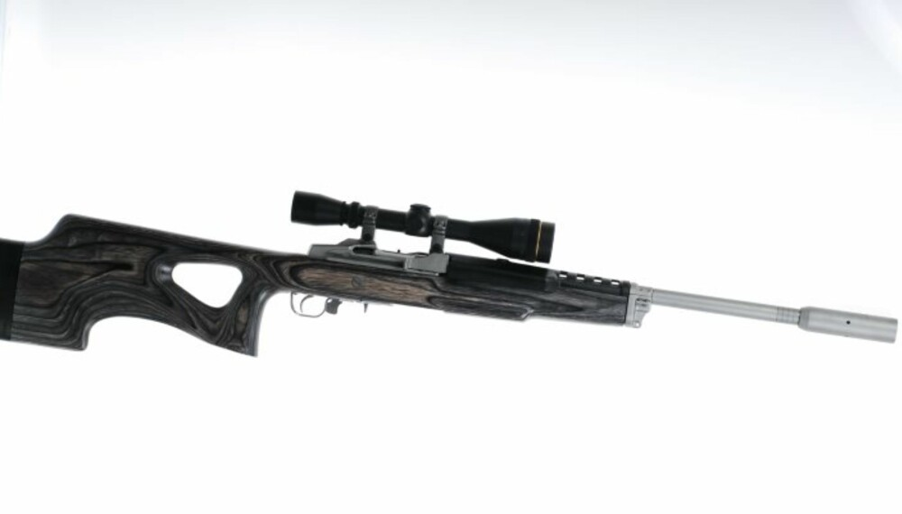 Ruger Mini 14 Target Rifle. (Foto: Eirik Moen)