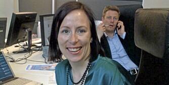 NETTEKSPERT: Ingeborg Volan fikk ny jobb etter å ha funnet stillingsannonse gjennom Twitter.