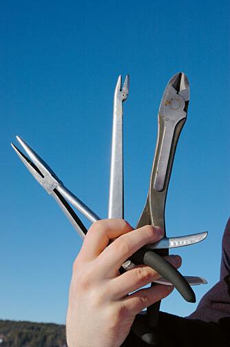 IKKE GLEM: Avkrokingsverktøy av god kvalitet er viktig.