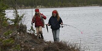 Bevegelig fiske er effektivt fiske.(Foto: Dag Kjelsaas)