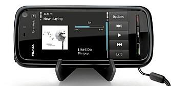 """DEN NYE IPOD: Mobilen kan bli den nye """"iPod-en"""" om Nokia og andre lykkes med å lage gode nedlastingstjenester for musikk."""