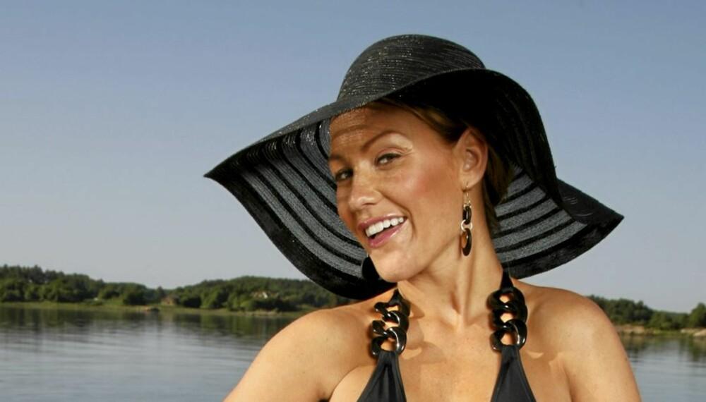 RYDDET OPP: Helene Rask tok en skikkelig opprydning i klesskapet sitt.