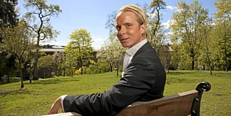 PÅ UTKIKK: Petter Pilgaard er ferdig som finansrådgiver i Forvaltningshuset as. Nå er han på utkikk etter ny jobb ¿ og ny dame!