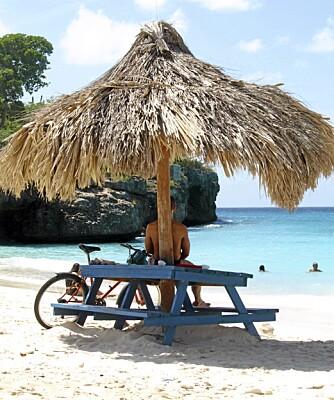 AVSLAPPENDE: Det er 35 registrerte strender på Curacao, og det er lett å falle i filosofiske tanker når du ser utover havet.