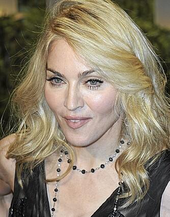 OPPBLÅST: Madonna