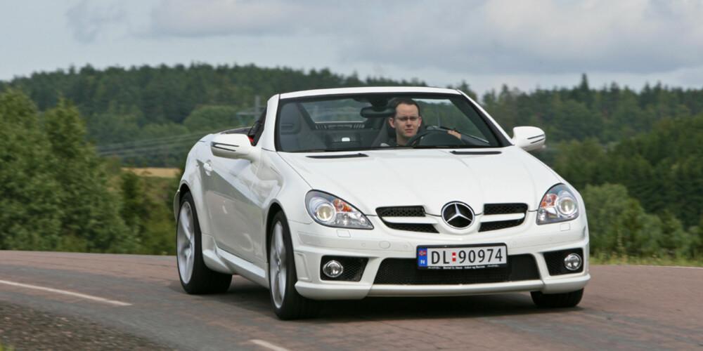 FACELIFT: I 2008 fikk SLK en midtlivsoppgradering.