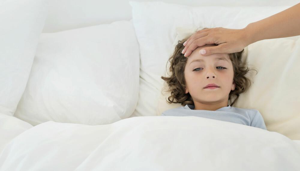 ANTIBIOTIKA OG PENICILLIN TIL BARN: Dette kan konsekvensen være av å gi barn penicillin eller antibiotika unødvendig. Barnet kan bli antibiotikaresistent. FOTO: Getty Images
